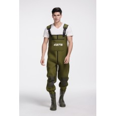 High quality waterproof fishing waders Breathable wader Rubber boot