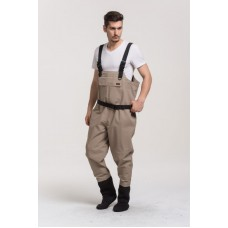 High quality waterproof fishing waders Breathable wader stocking foot Free shipping fast delivery
