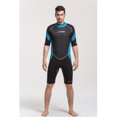 Mens spring suit is made of 3 mm high-quality neoprene