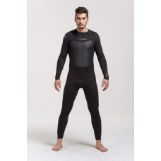 Steamer suit 3.0mm high quality neoprene YKK zipper 3D curves cut