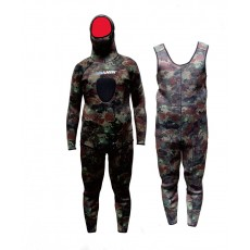 5.0mm high-quality CR Neoprene Diving suit Fashion ocean camo